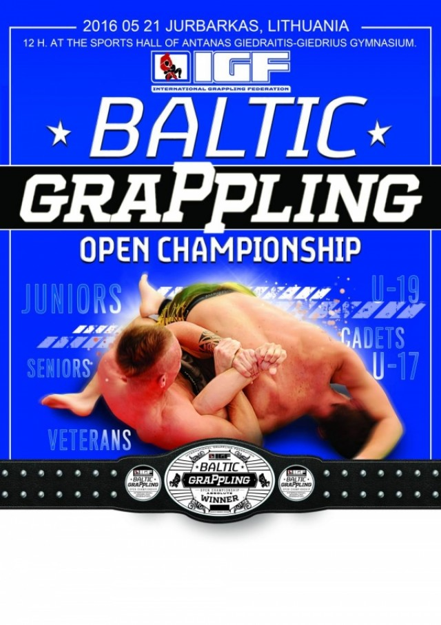 BALTIC GRAPPLING OPEN CHAMPIONSHIP Jurbarkas